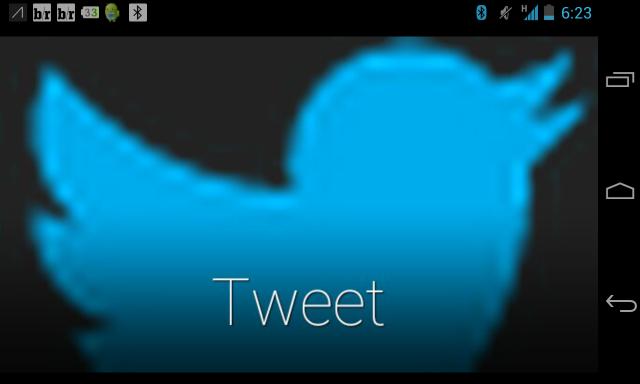 GlassTweet