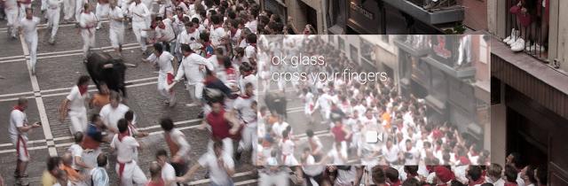 Glass San Fermin