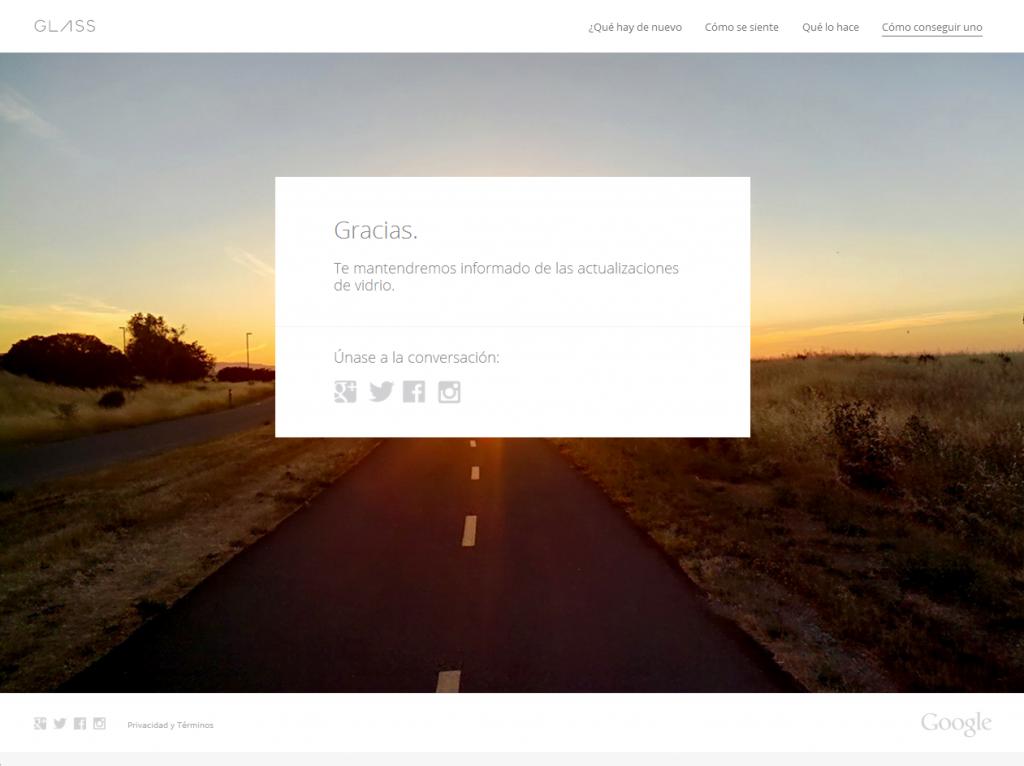Cómo conseguir uno Google Glass2