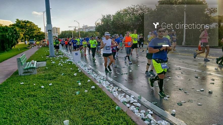maraton google glass