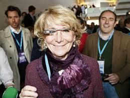 esperanza aguirre google glass