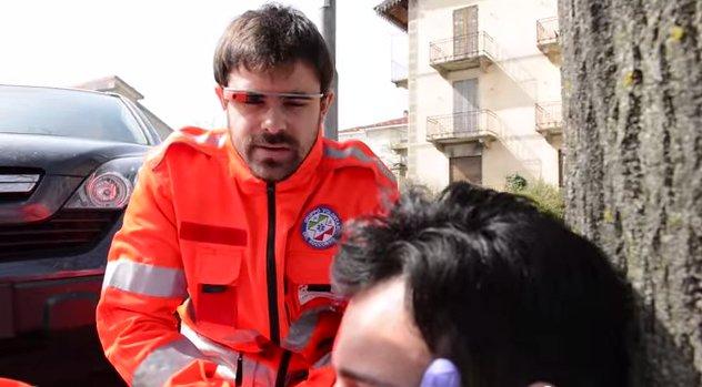 Rescatar con Google Glass