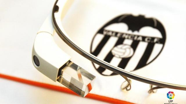 El Valencia usará Google Glass ante el Real Madrid
