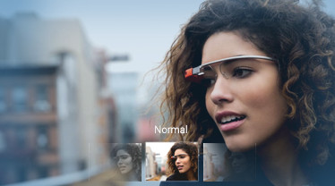Instagram para Google Glass, concepto de como podría ser