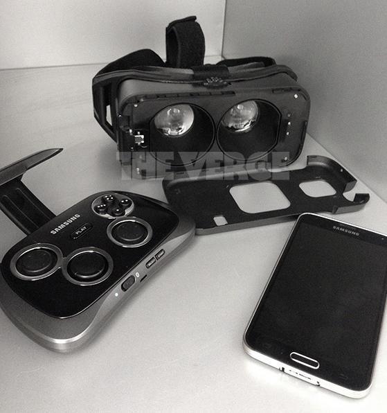 Las gafas de realidad virtual de Samsung se dejan ver antes del IFA2014