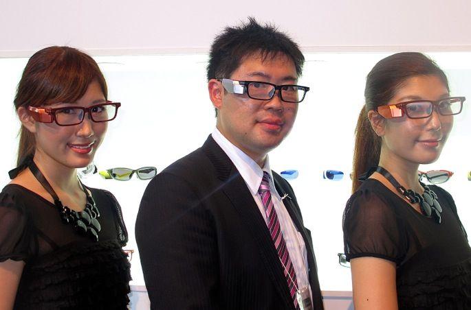Así es el prototipo de gafas inteligentes de Toshiba
