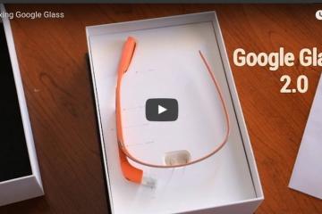 Unboxing Google Glass