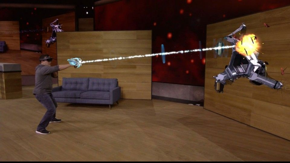 project X Ray HoloLens juego