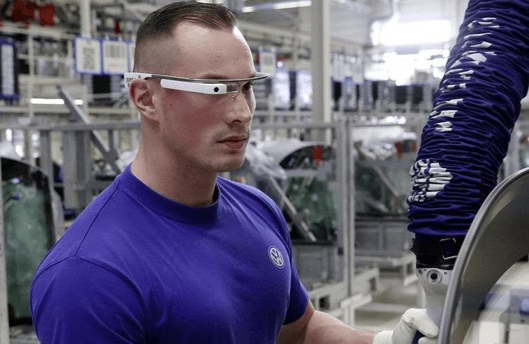 Volkswagen google glass