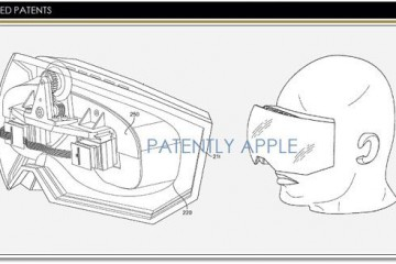 Apple realidad virtual patente