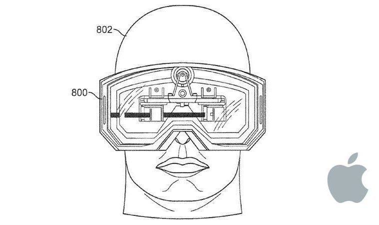 Apple VR patente