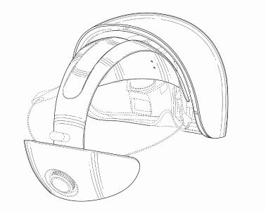magic leap patente casco