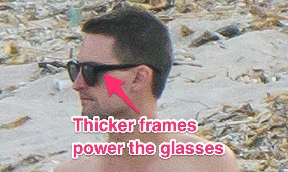 snapchat glass prototipo gafas inteligentes