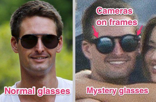 snapchat glass prototipo