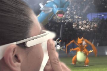 Pokemon GO y Google Glass