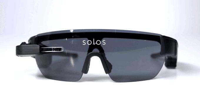 solos gafas inteligentes ciclistas