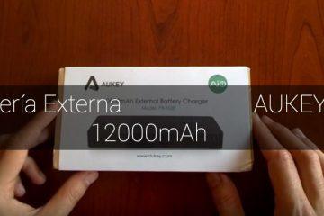 bateria externa de aukey