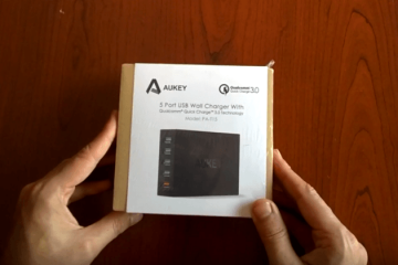 cargador de pared aukey review