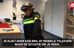 policia gafas inteligentes hololens