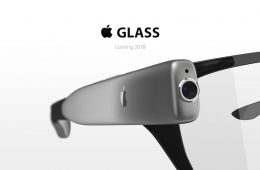 gafas inteligentes de apple concepto