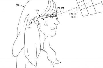 patente google glass mirada
