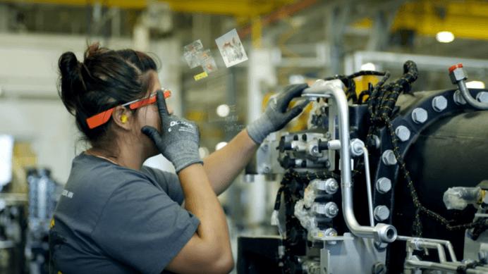 google glass industria