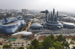 parque de atracciones de realidad virtual china transforner