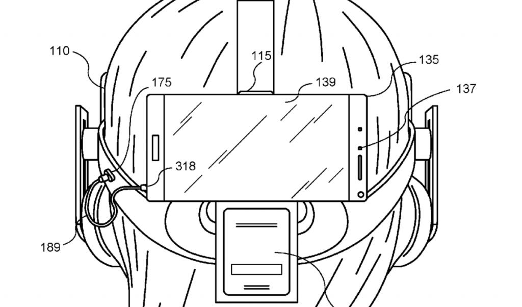 oculus rift hibridas patente