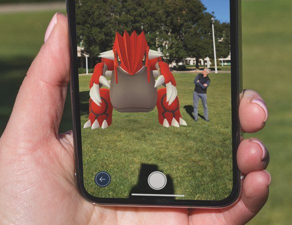 pokemon go apple arkit