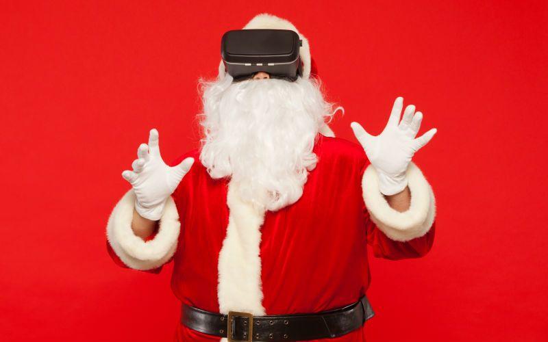 papa noel realidad virtual