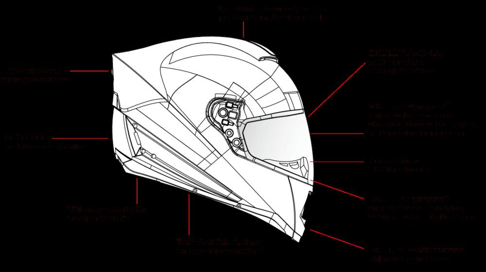 skully casco inteligente moto caracteristicas