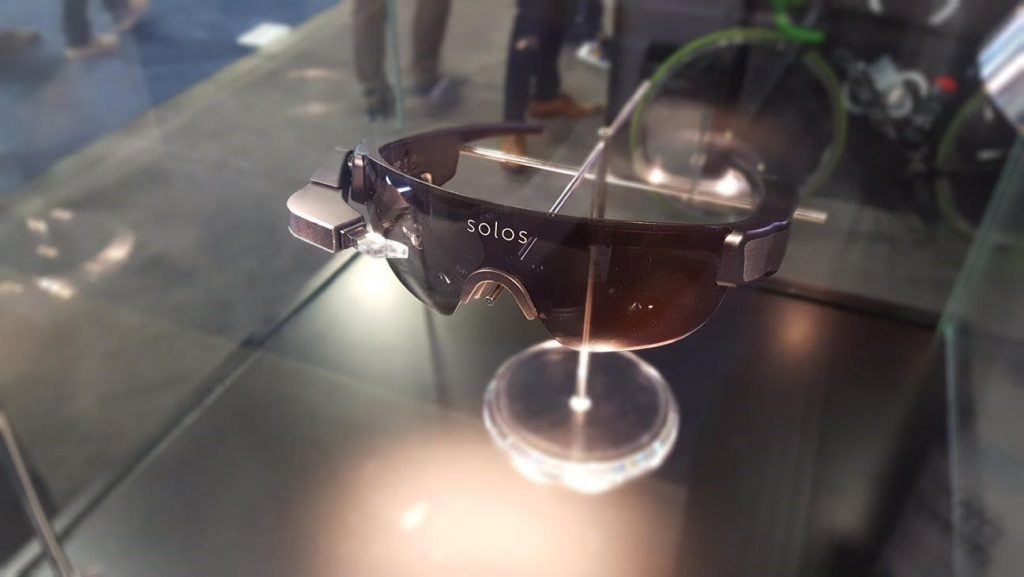 solos gafas inteligentes para ciclistas runners
