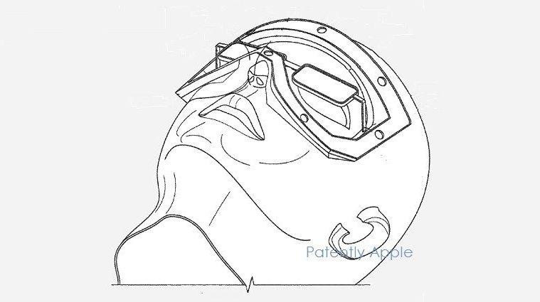 Apple VR patente ocular