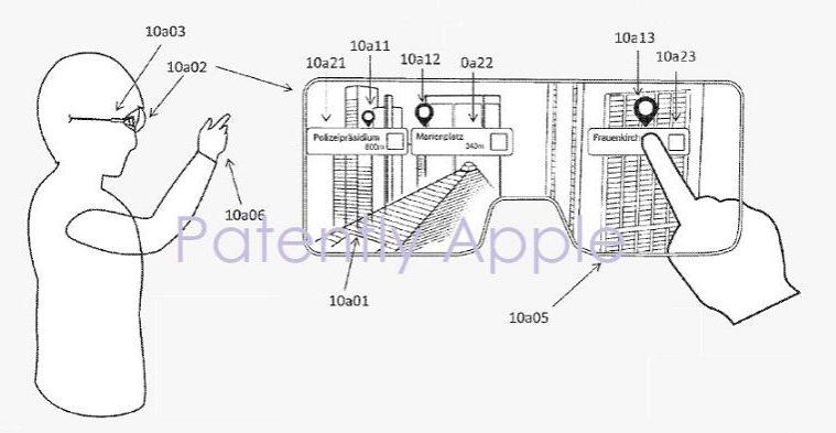 apple glass patente