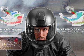 casco inteligente motos digilens