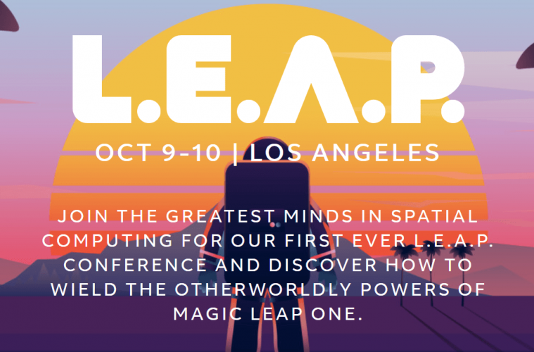 leap conferencia magic leap