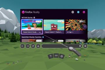 firefox reality navegador oculus htc daydream
