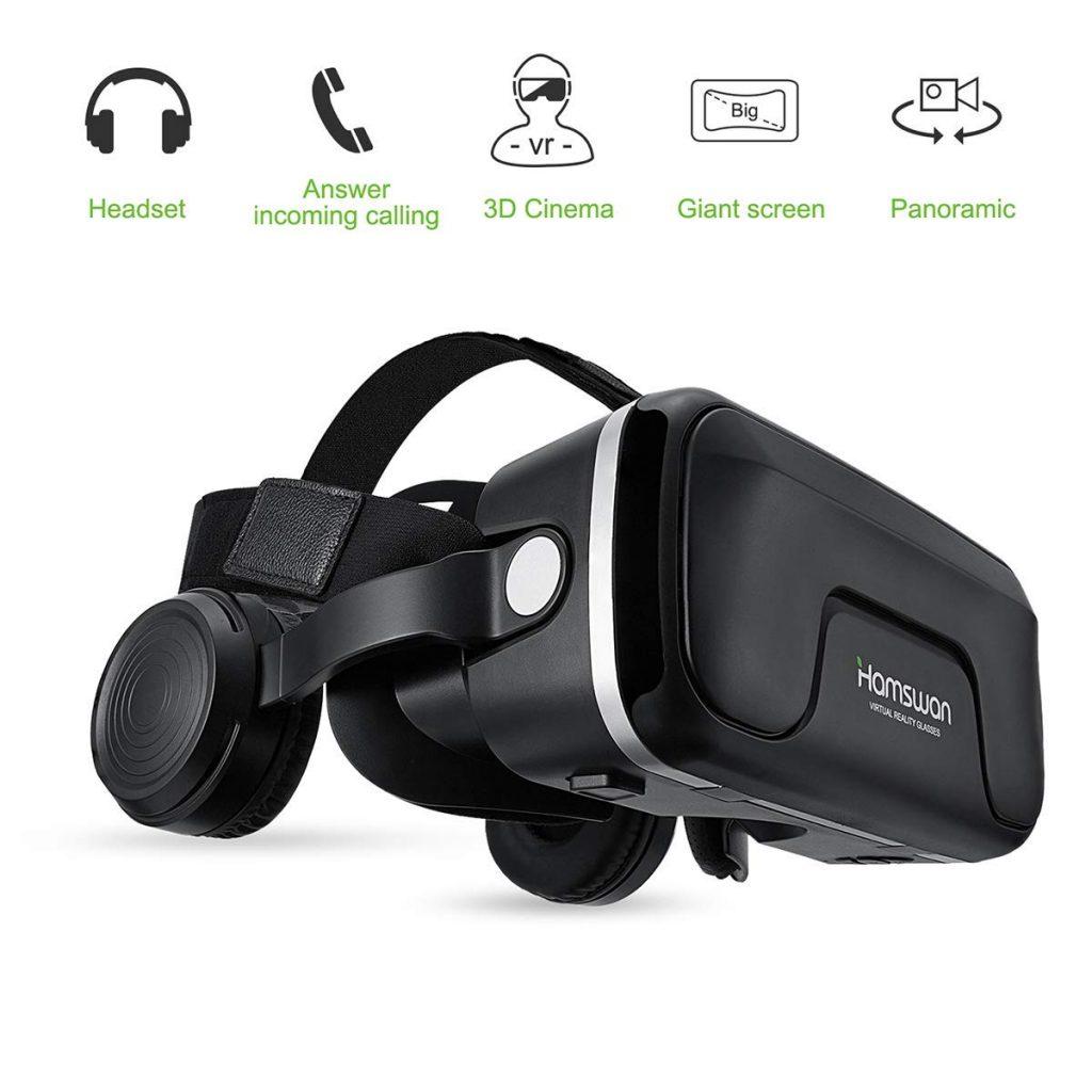 hamsawn vr gafas realidad virtual para movil