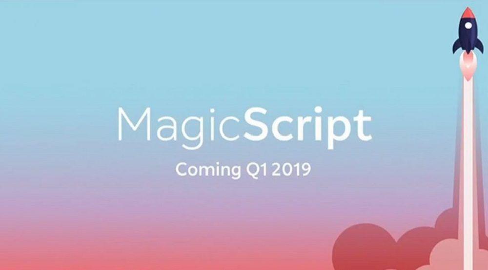 magicscript leap one lenguaje