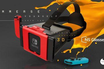 ns glasses realidad virtual en nintendo switch
