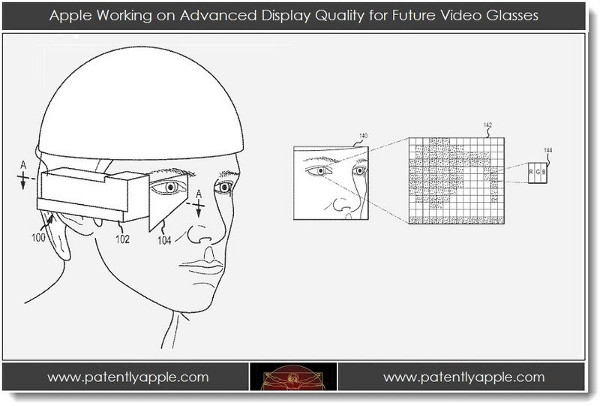 Apple patenta un proyecto similar a Google Glass ¿ Apple Glass ?