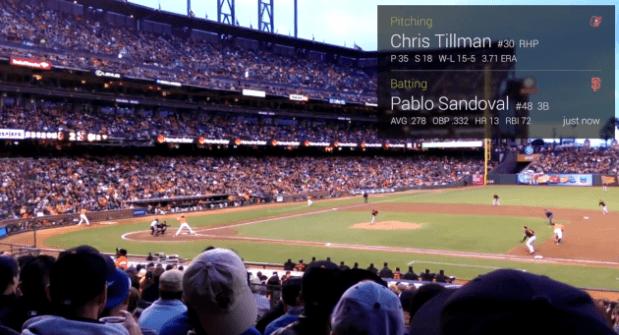 Google Glass y una nueva forma de mirar el Béisbol
