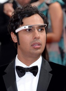 Google Glass en los Emmys Awards gracias a un actor de The Big Bang Theory