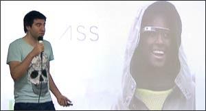 Primer App Argentina para Google Glass