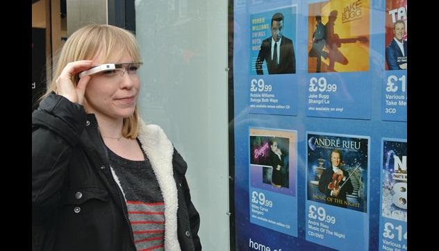 ¿ Cuál sería el uso de Google Glass en las tiendas ?