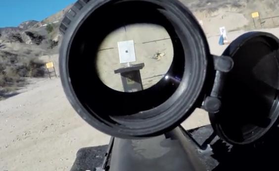 Dispara a un iPad Air y lo graba desde Google Glass