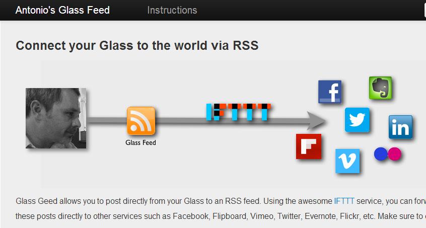 IFTTT añadió un canal para las Google Glass