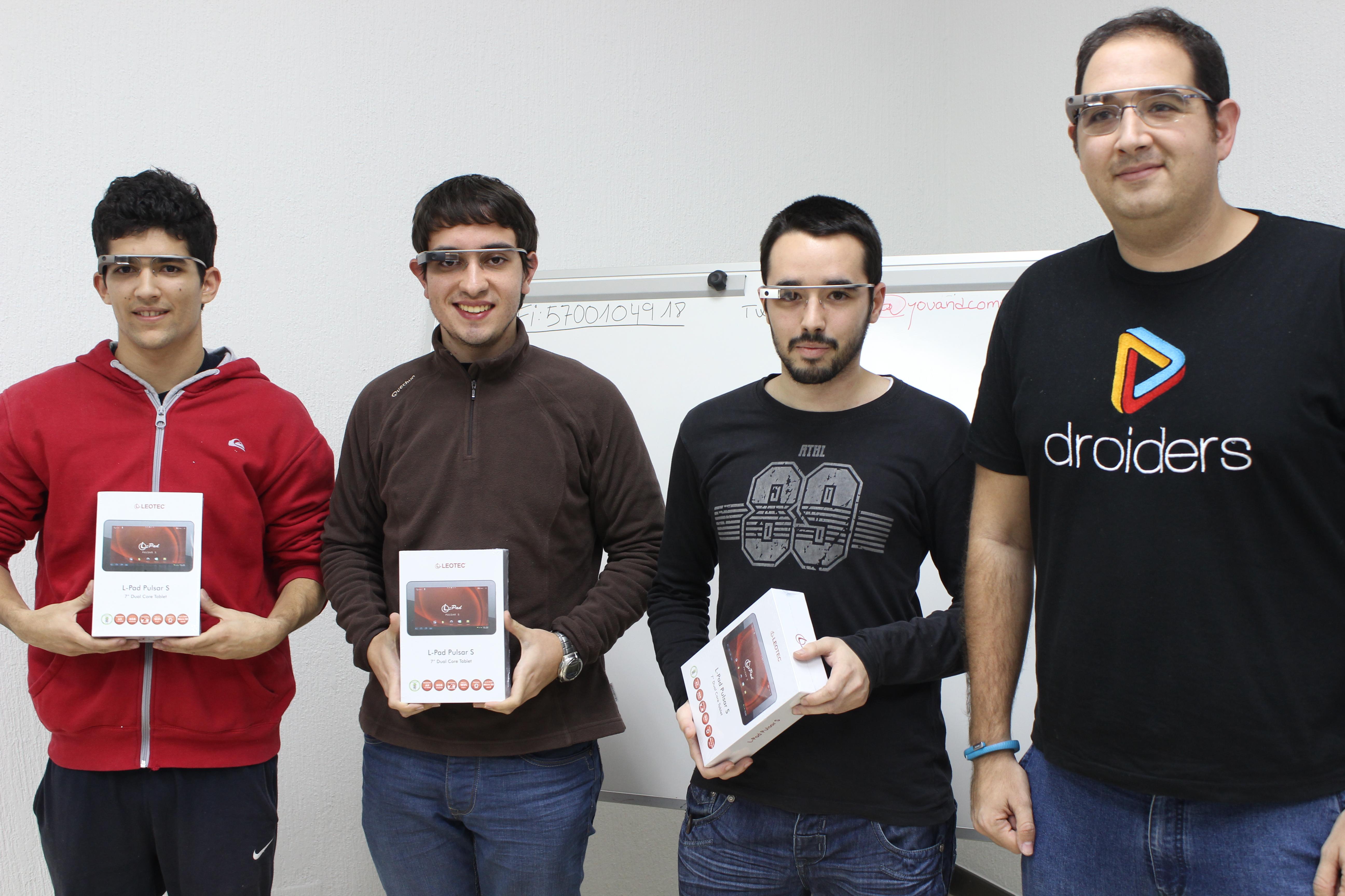 Entrevistamos a los ganadores del primer hackathon de Google Glass