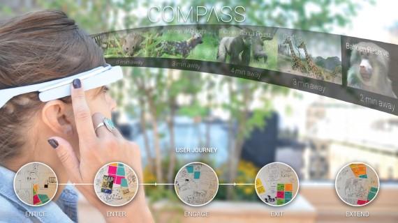 Compass: explorando el zoo del Bronx con Google Glass
