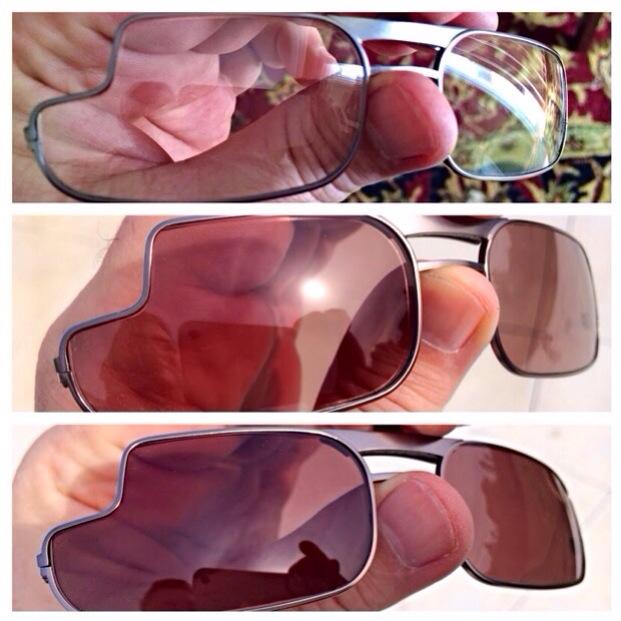 Las primeras monturas de diseño para Google Glass